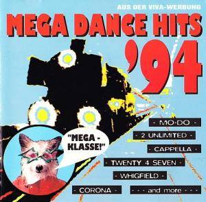 Cover - Spanic: Mega Dance Hits '94