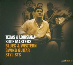 Texas & Louisiana Slide Masters - Blues & Western Swing Guitar Stylists - Cover