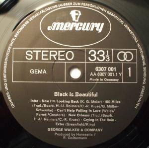 George Walker & Company: Black Is Beautiful (LP) - Bild 3