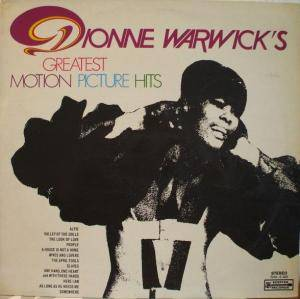 Cover - Dionne Warwick: Dionne Warwick's Greatest Motion Picture Hits