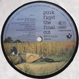 Pink Floyd: The Final Cut (LP) - Bild 5