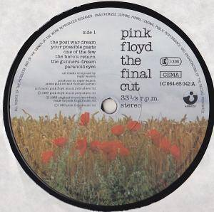 Pink Floyd: The Final Cut (LP) - Bild 6