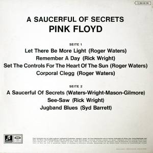 Pink Floyd: A Saucerful Of Secrets (LP) - Bild 2