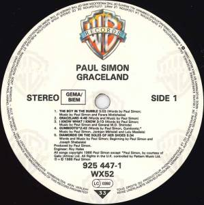 Paul Simon: Graceland (LP) - Bild 6