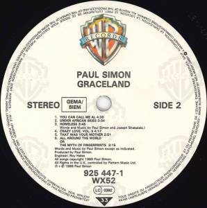 Paul Simon: Graceland (LP) - Bild 7