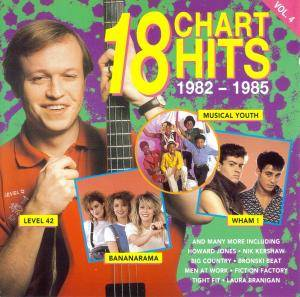 Cover - Fiction Factory: 18 Chart Hits Vol. 4 (1982-1985)
