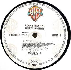 Rod Stewart: Body Wishes (LP) - Bild 2