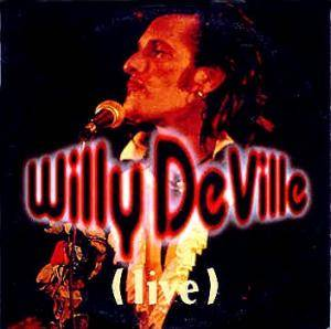 Willy DeVille: Live - Cover