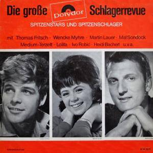 Cover - Lilly Ahrens: Große Polydor-Schlagerrevue, Die