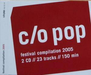 Cover - Schaeben & Voss: C/O Pop - Cologne On Pop Festival Compilation 2005