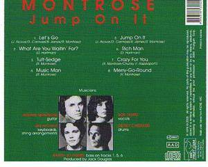 Montrose: Jump On It (CD) - Bild 3