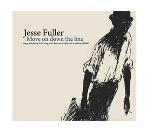 Cover - Jesse Fuller: Move On Down The Line