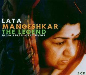 Lata Mangeshkar: Legend - India's Best-Loved Singer, The - Cover