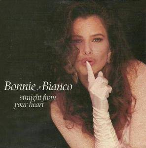 Bonnie Bianco: Straight From Your Heart - Cover