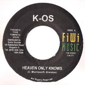 Cover - k-os: Heaven Only Knows