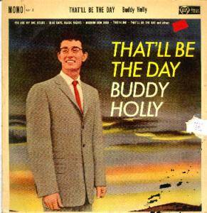 Cover - Buddy Holly: That'll Be The Day