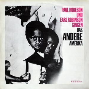 Cover - Paul Robeson: Andere Amerika, Das