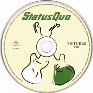 Status Quo: Pictures - 40 Years Of Hits (2-CD) - Bild 3