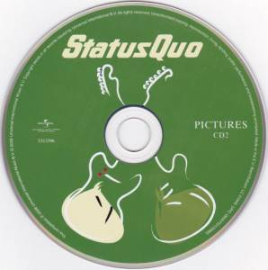 Status Quo: Pictures - 40 Years Of Hits (2-CD) - Bild 4