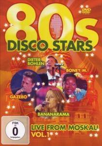 Cover - Mauro: 80s Disco Stars Live From Moskau Vol. 1