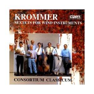 Cover - Franz Krommer: Sextets For Wind Instruments