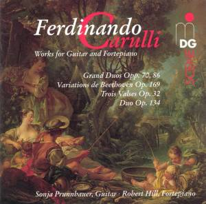 Cover - Ferdinando Carulli: Works For Guitar And Fortepiano