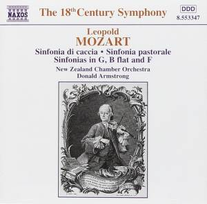 Cover - Leopold Mozart: Symphonies
