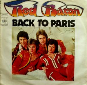 Cover - Red Baron: Back To Paris
