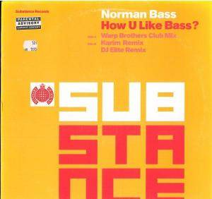 Norman Bass: How U Like Bass? - Cover