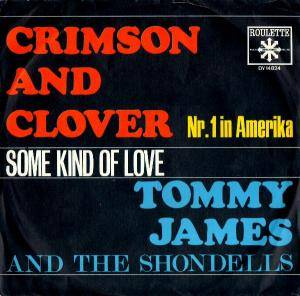 Tommy James And The Shondells: Crimson And Clover - Cover