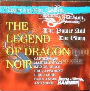 Legend Of Dragon Noir, The - Cover