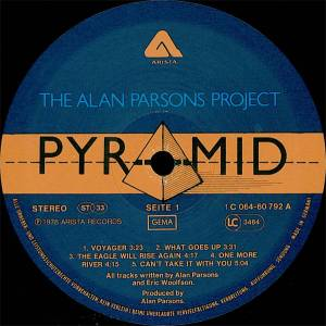 The Alan Parsons Project: Pyramid (LP) - Bild 5