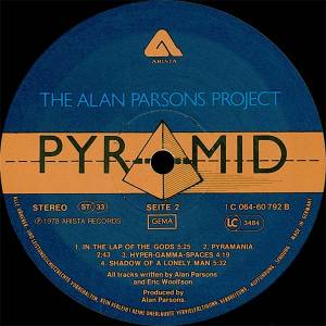 The Alan Parsons Project: Pyramid (LP) - Bild 6