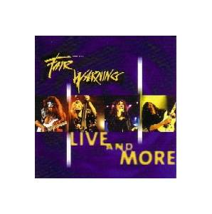 Fair Warning: Live And More - Cover