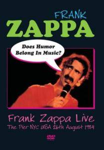 Cover - Frank Zappa: Does Humor Belong In Music?