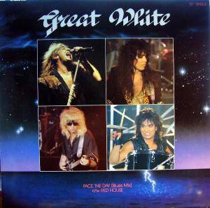 Great White: Face The Day - Cover