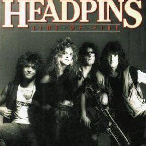 Headpins: Line Of Fire - Cover