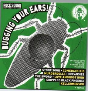Cover - Various Artists/Sampler: Rock Sound (UK) - Vol. 139 : Bugging Your Ears!