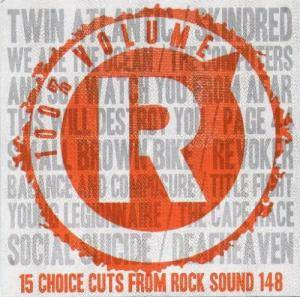 Rock Sound (UK) - Vol. 148 : 100% Volume - Cover