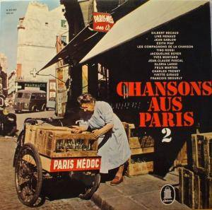 Cover - Line Renaud: Chansons Aus Paris 2