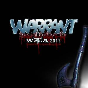 Warrant: Special Edition For W:O:A 2011 - Cover