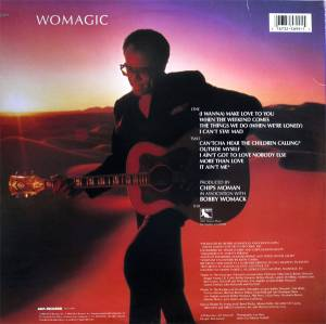 Bobby Womack: Womagic (LP) - Bild 2