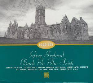 Cover - Larry Cunningham: Give Ireland Back To The Irish