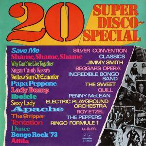 Cover - Henry Arland: 20 Super Disco-Special