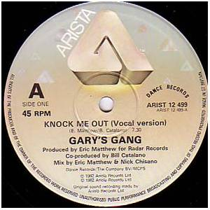 Cover - Gary's Gang: Knock Me Out