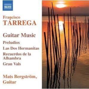 Cover - Francisco Tárrega: Guitar Music