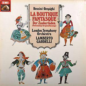 Ottorino Respighi: Boutique Fantasque, La - Cover