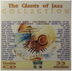 Giants Of Jazz Collection, The - Cover
