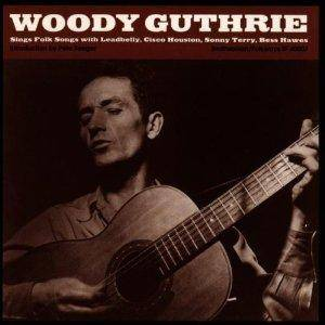 Cover - Woody Guthrie: Sings Folks Songs