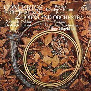 Cover - Joseph Fiala: Concertos For 2 French Horns And Orchestra